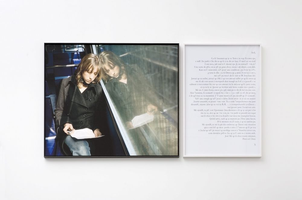 Artist:Sophie CALLE, Exhibition:Daniel BUREN : Une Fresque