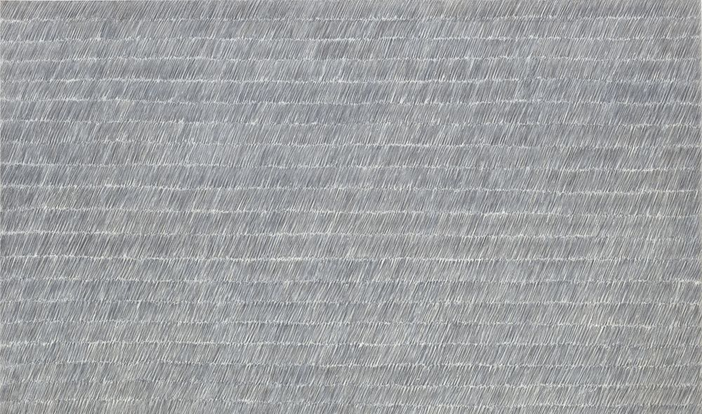 Artist:Park Seo-Bo, Exhibition:Marking Time: Process in Minimal Abstraction