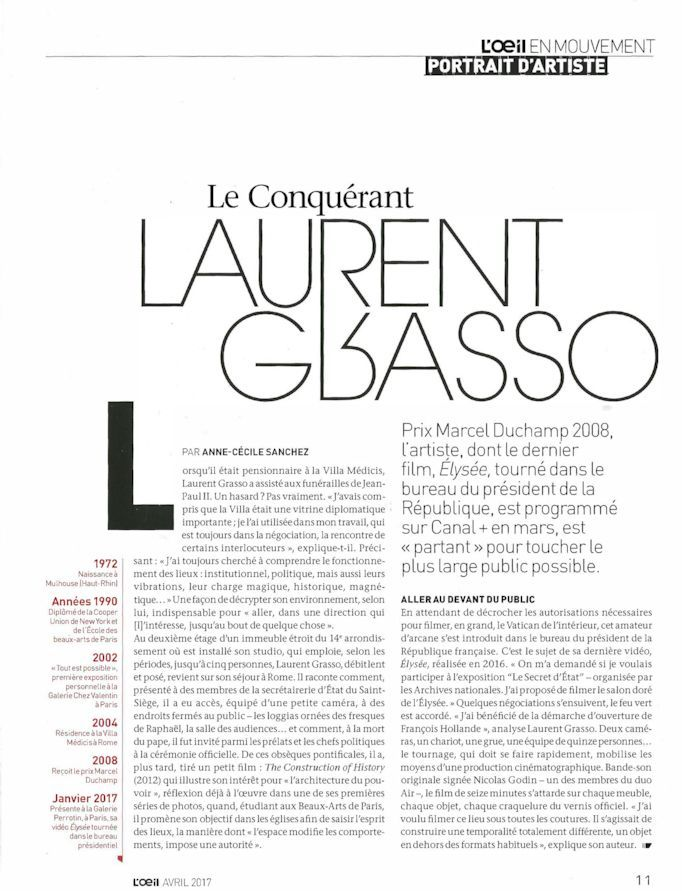 L'Oeil | Laurent GRASSO