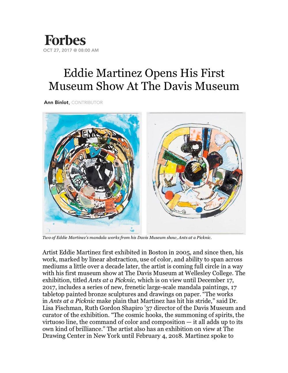 Forbes | Eddie MARTINEZ