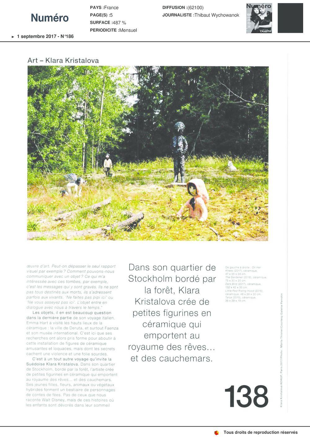 Numéro | Klara KRISTALOVA