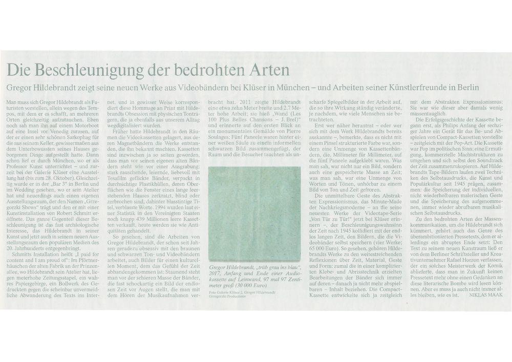 Frankfurter Allgemeine Zeitung | Gregor HILDEBRANDT