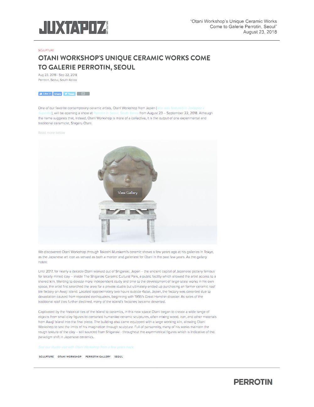 Juxtapoz | Otani Workshop