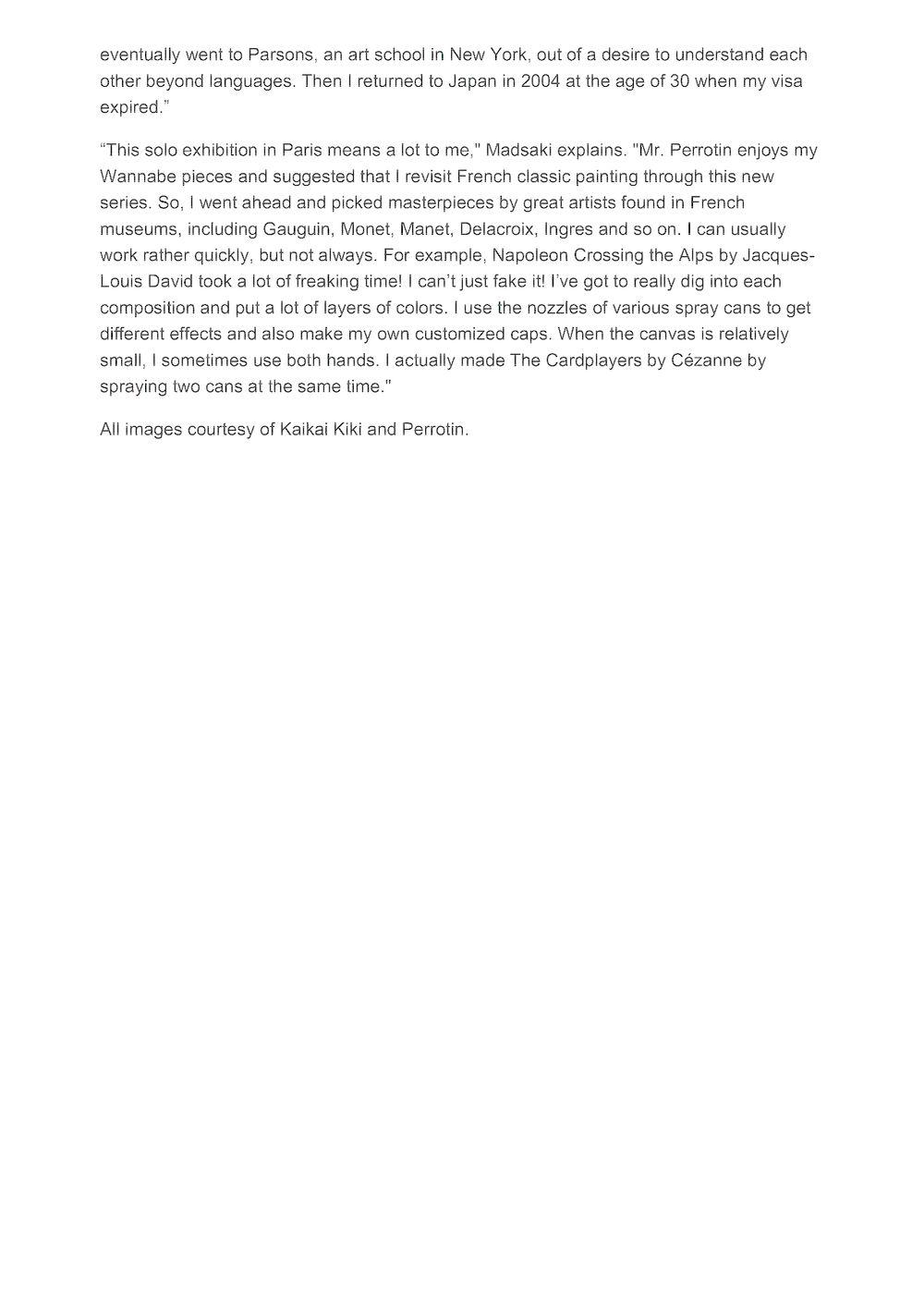 Juxtapoz | MADSAKI