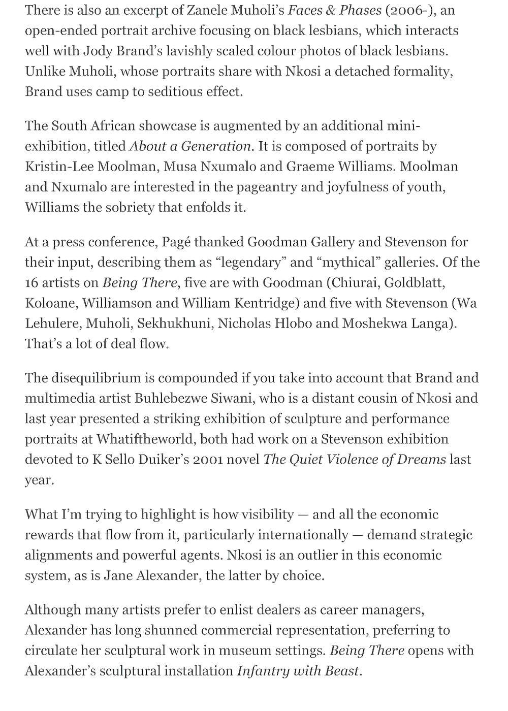 Mail & Guardian   Cinga SAMSON