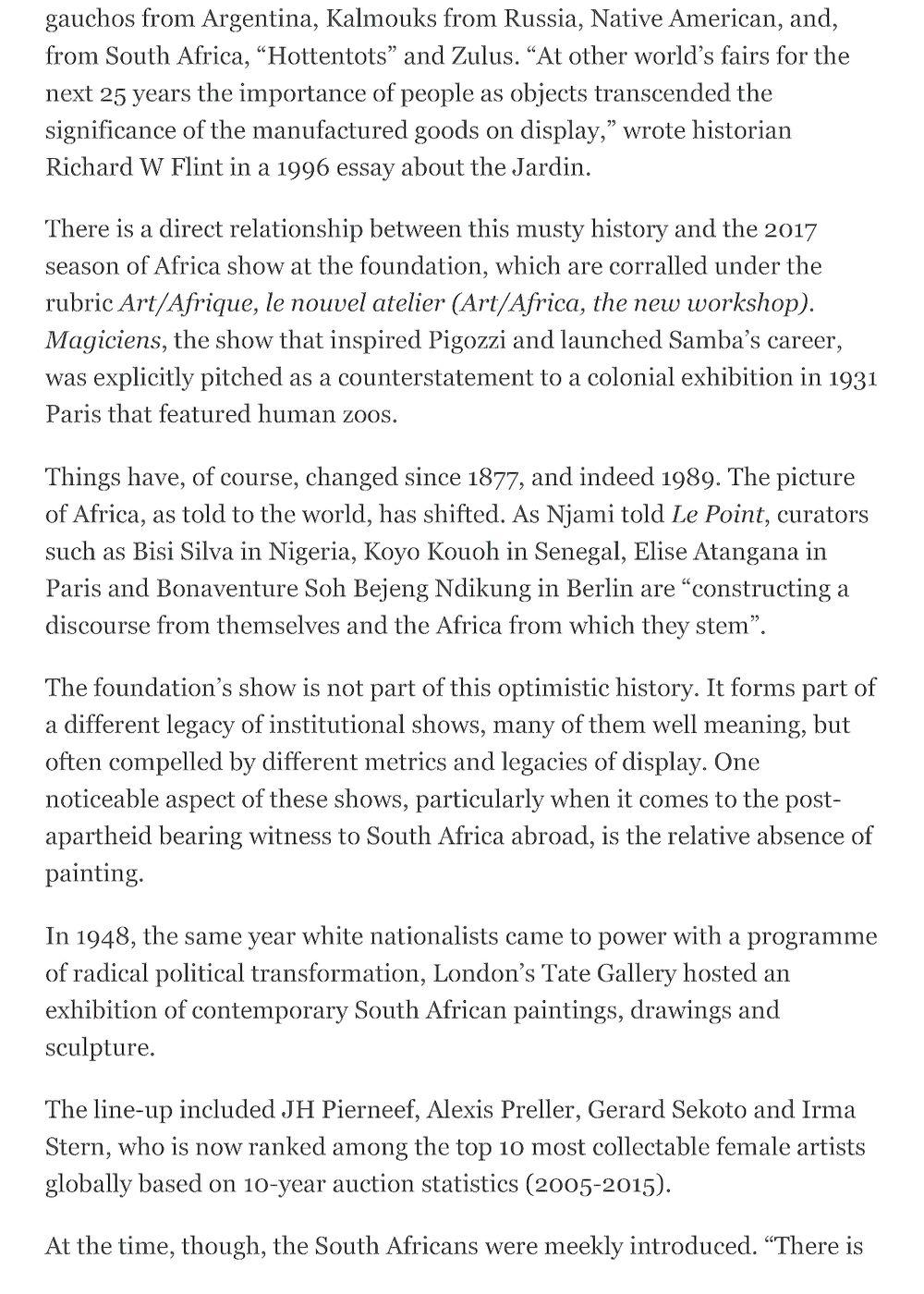 Mail & Guardian | Cinga SAMSON