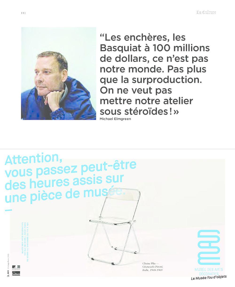 M le Magazine du Monde | Elmgreen & Dragset