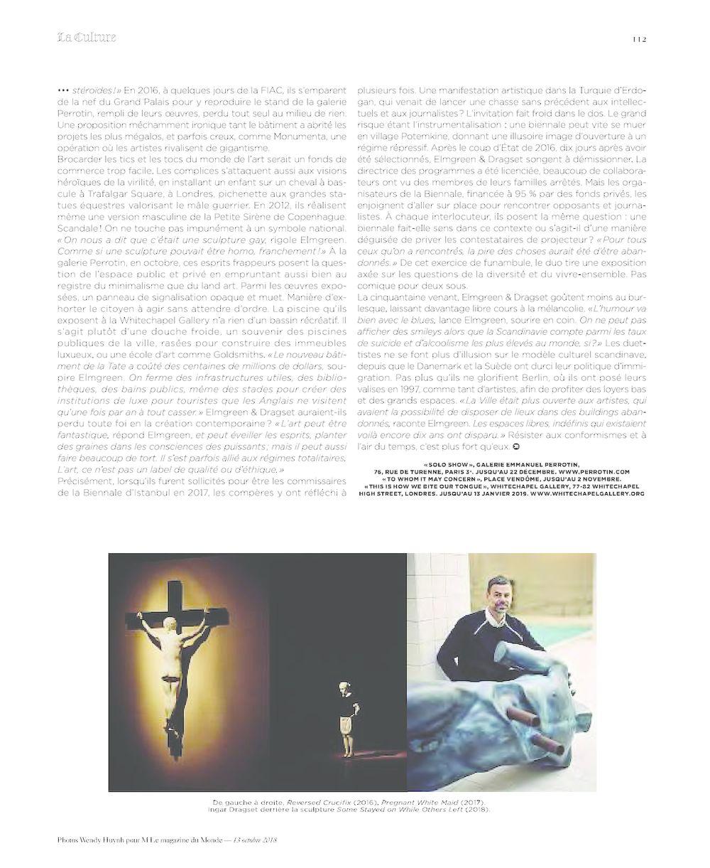 M le Magazine du Monde | 艾默格林 & 德拉塞特