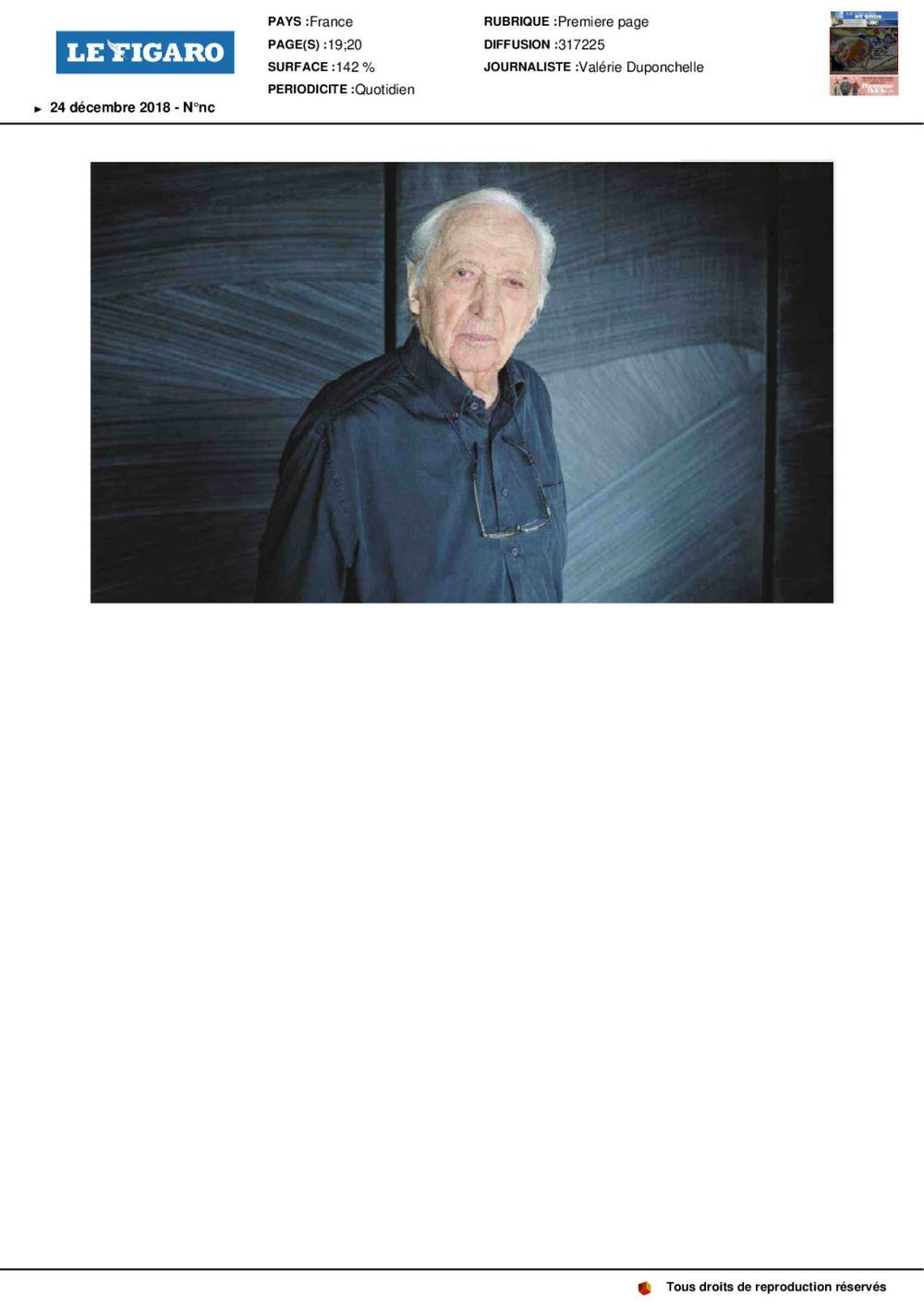 Le Figaro | Pierre SOULAGES