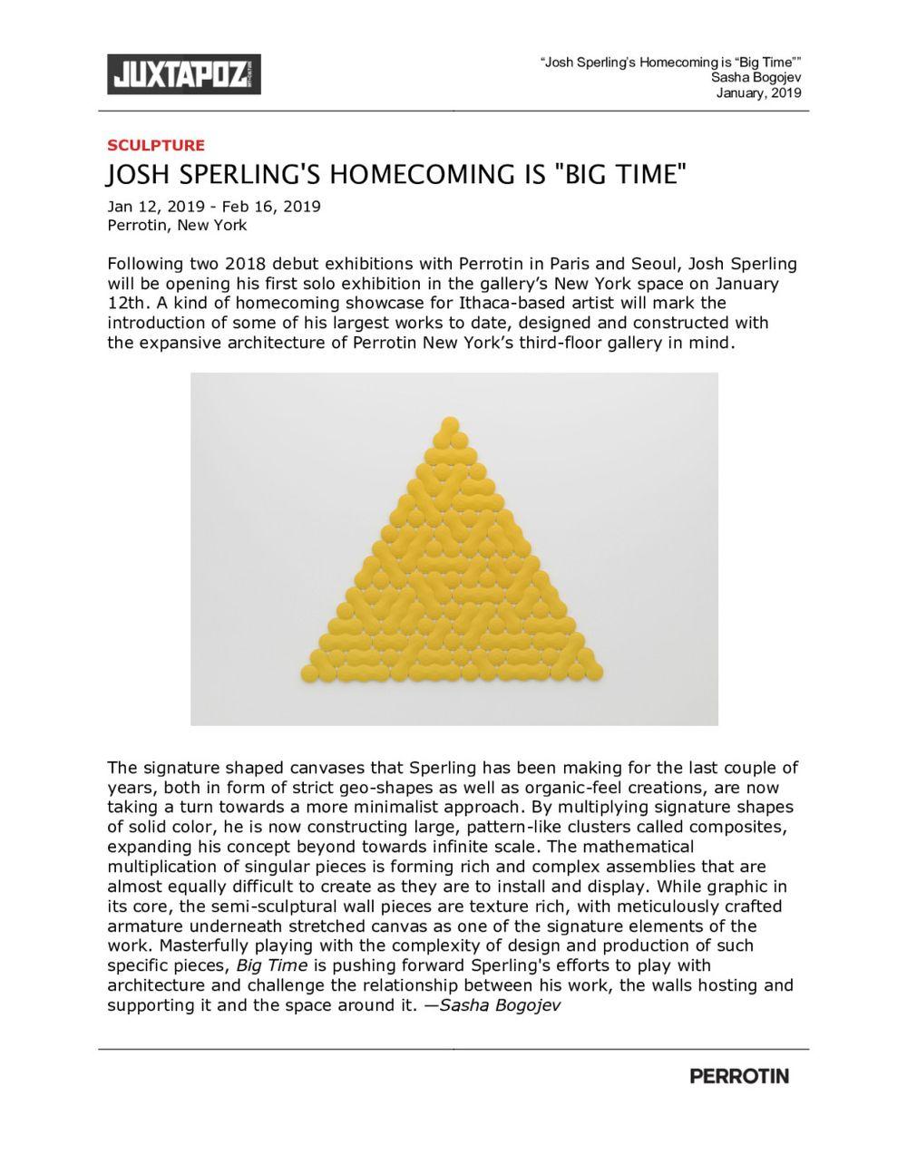 Juxtapoz | Josh SPERLING
