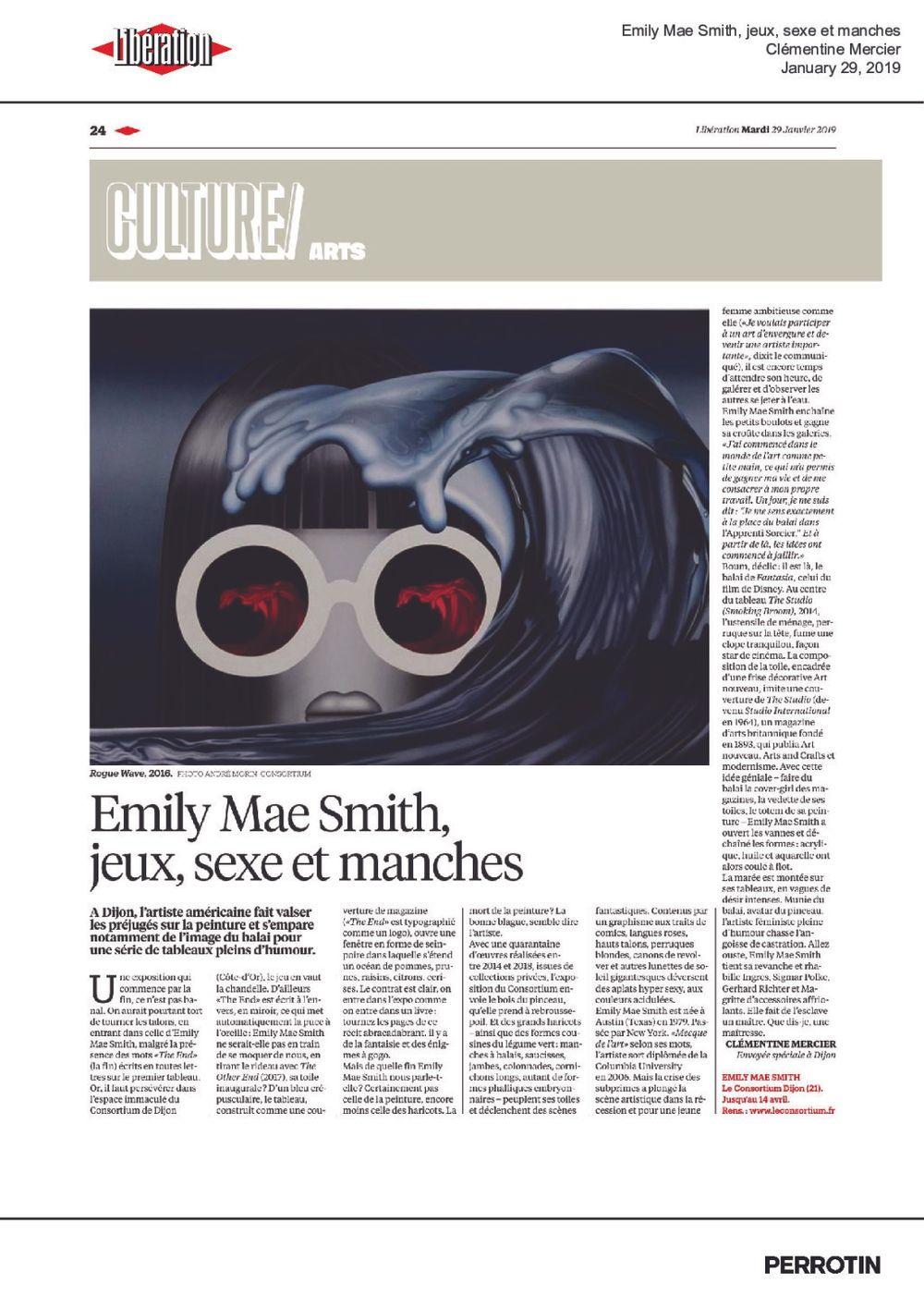 Libération | Emily Mae SMITH