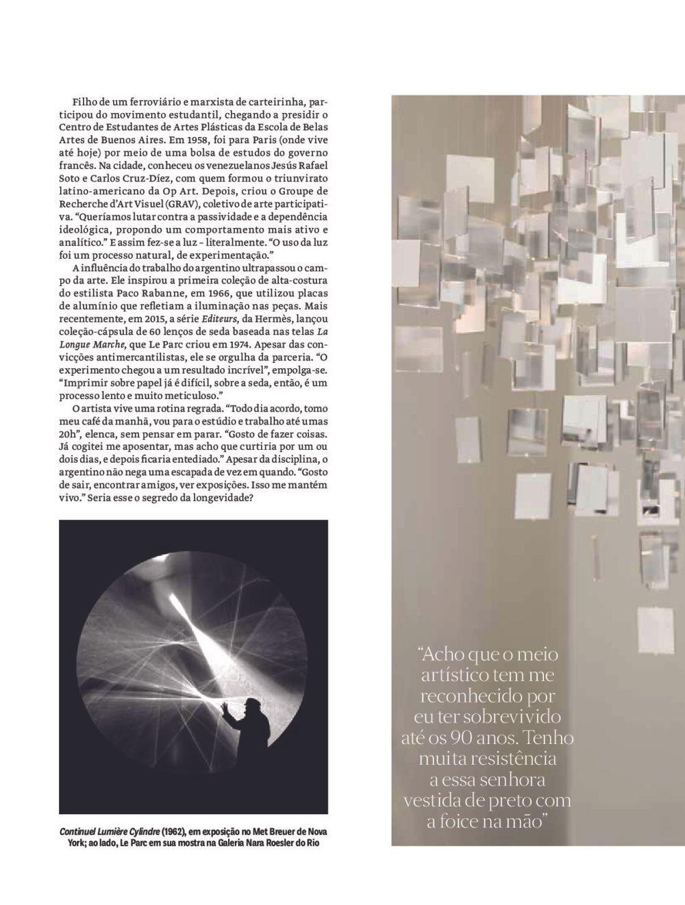 Vogue | Julio LE PARC