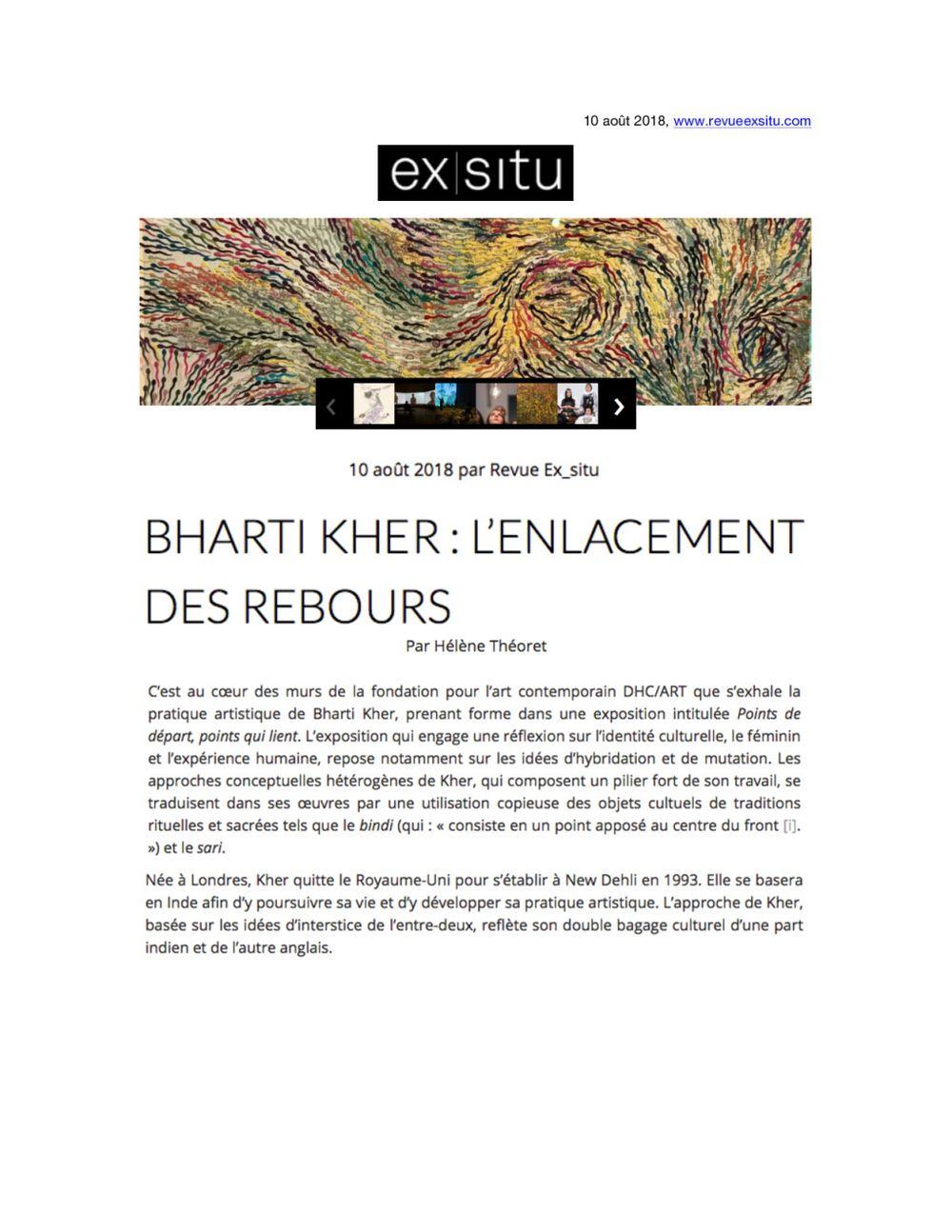 Ex Situ | Bharti KHER