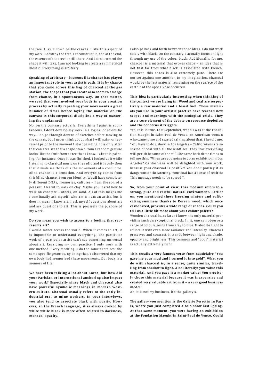 Whitelies Magazine    LEE Bae