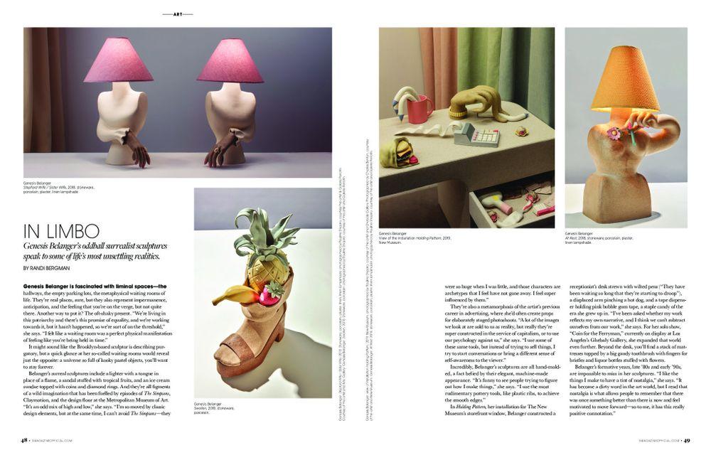 S Magazine | Genesis BELANGER