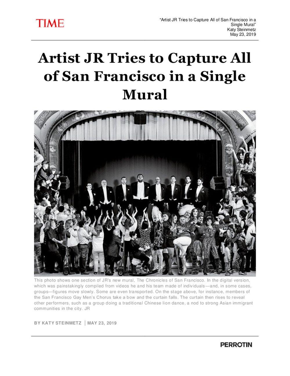 Time Magazine | JR
