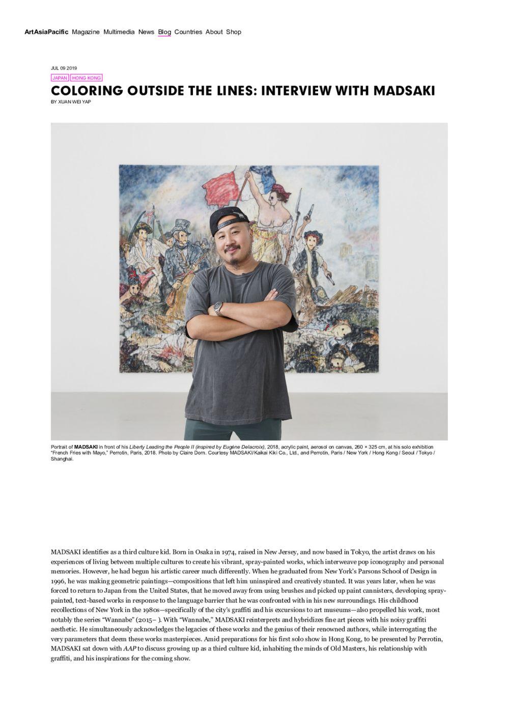 ArtAsiaPacific | MADSAKI