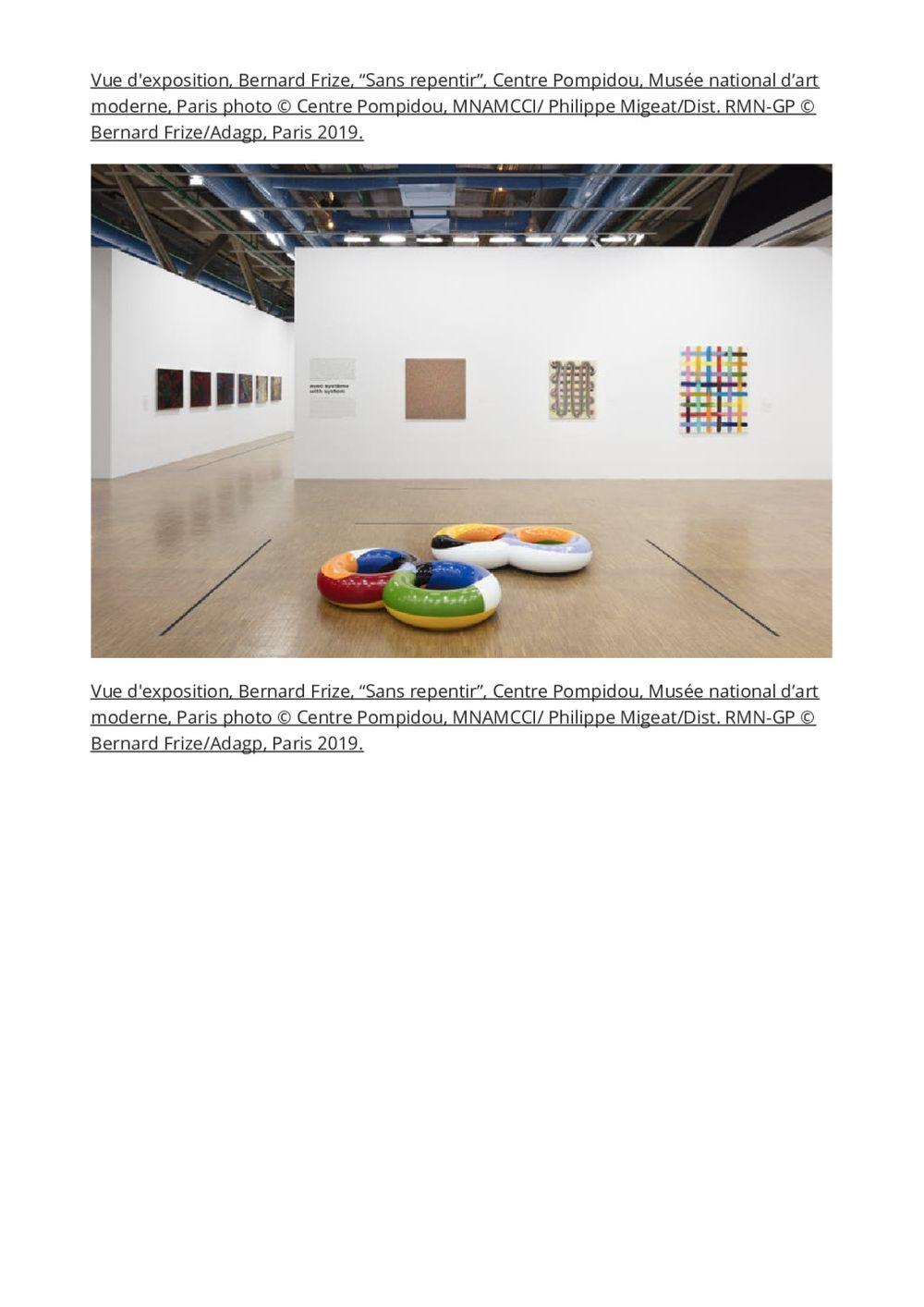 L'Officiel Art | Bernard FRIZE
