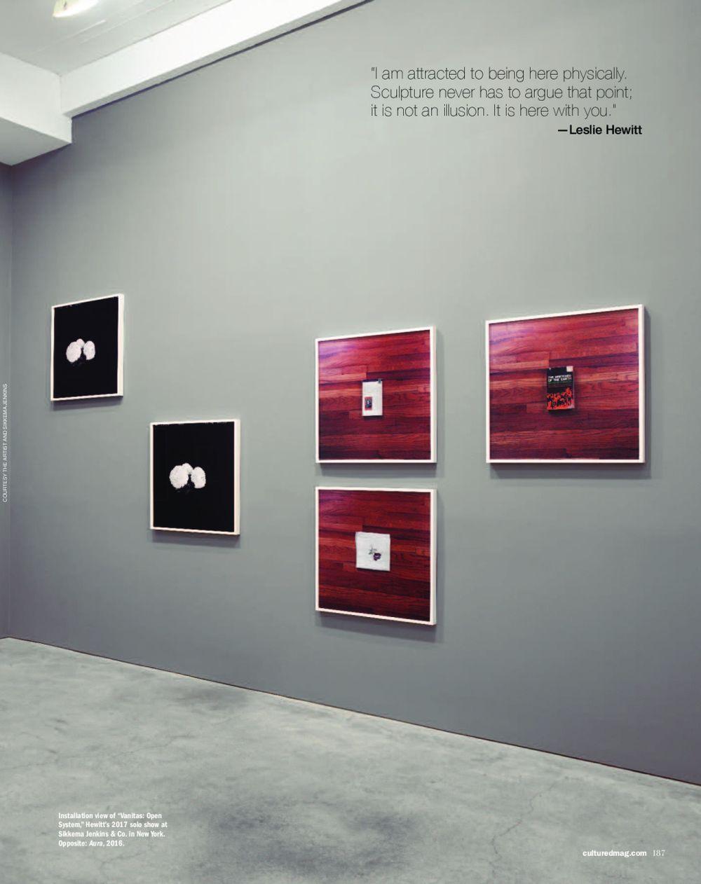 Cultured | Leslie HEWITT