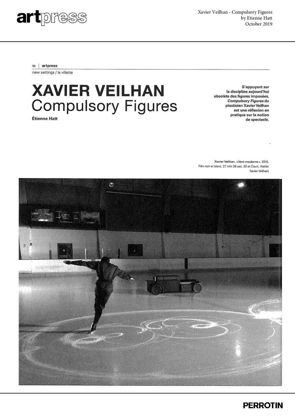 Artpress   Xavier VEILHAN