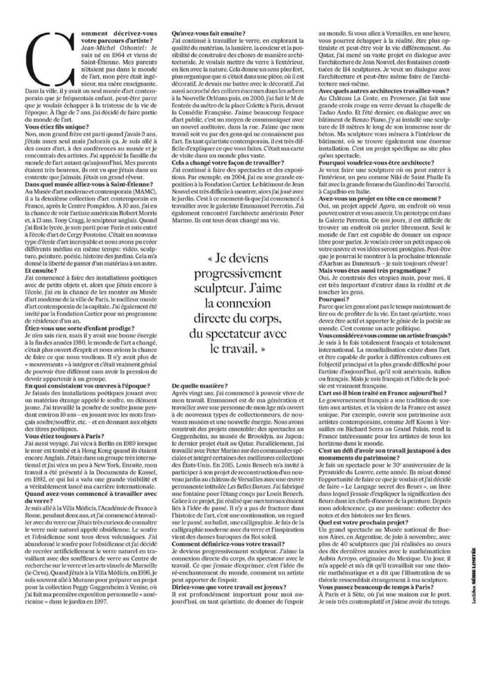 Les Echos | Jean-Michel OTHONIEL