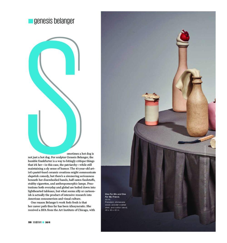 Sculpture | Genesis BELANGER