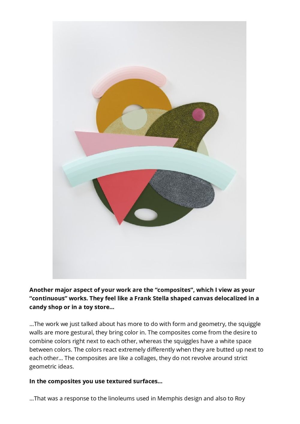 Abstract Room | Josh SPERLING