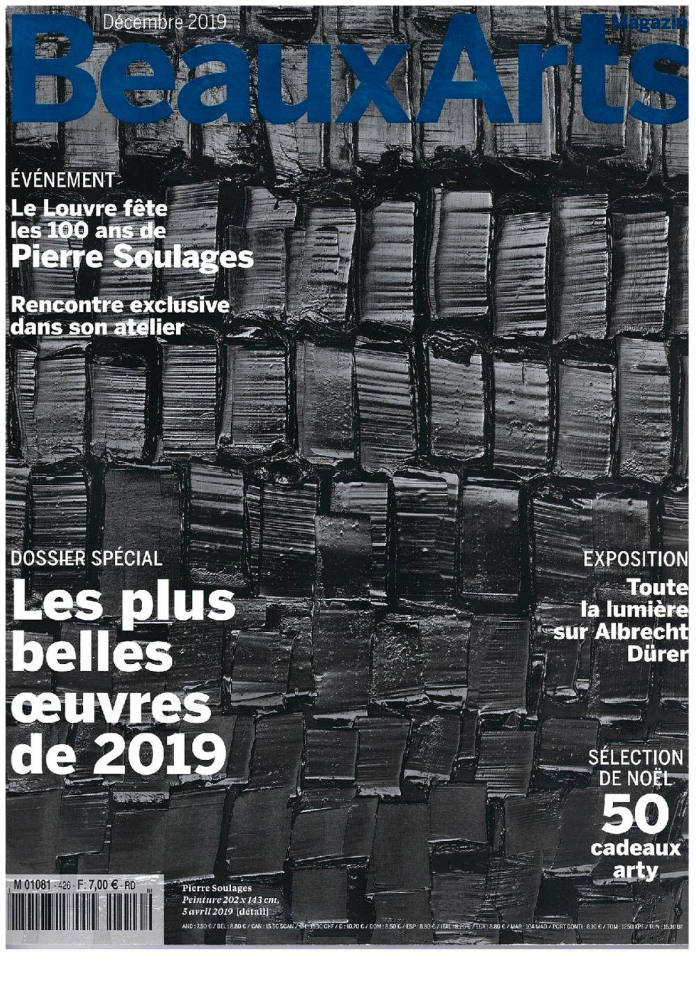 Beaux Arts Magazine | Pierre SOULAGES
