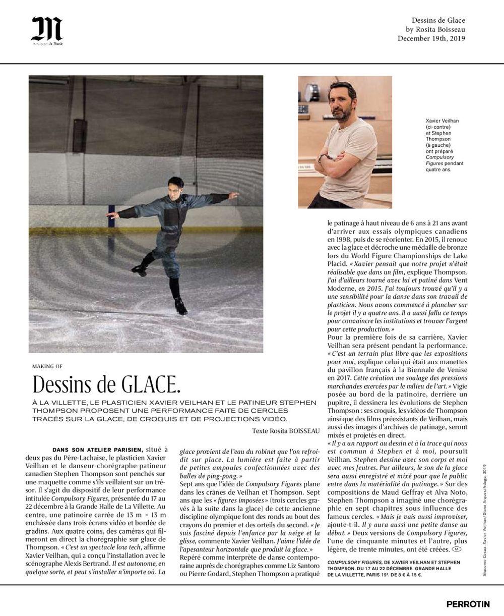Le Monde   Xavier VEILHAN