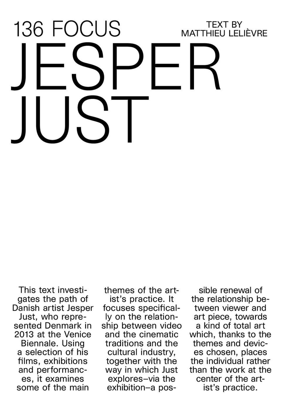 Cura | Jesper JUST