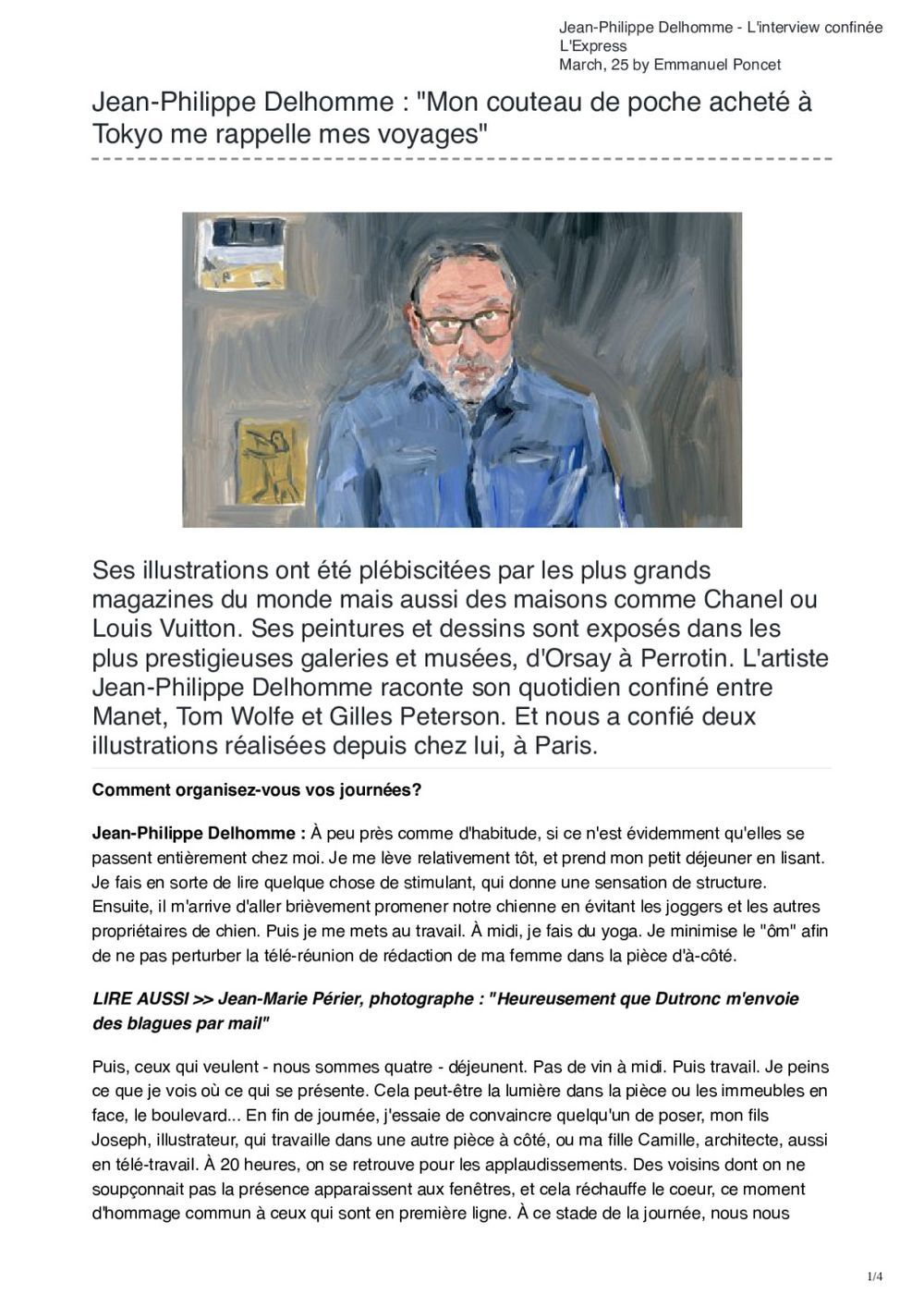 L'Express | Jean-Philippe DELHOMME
