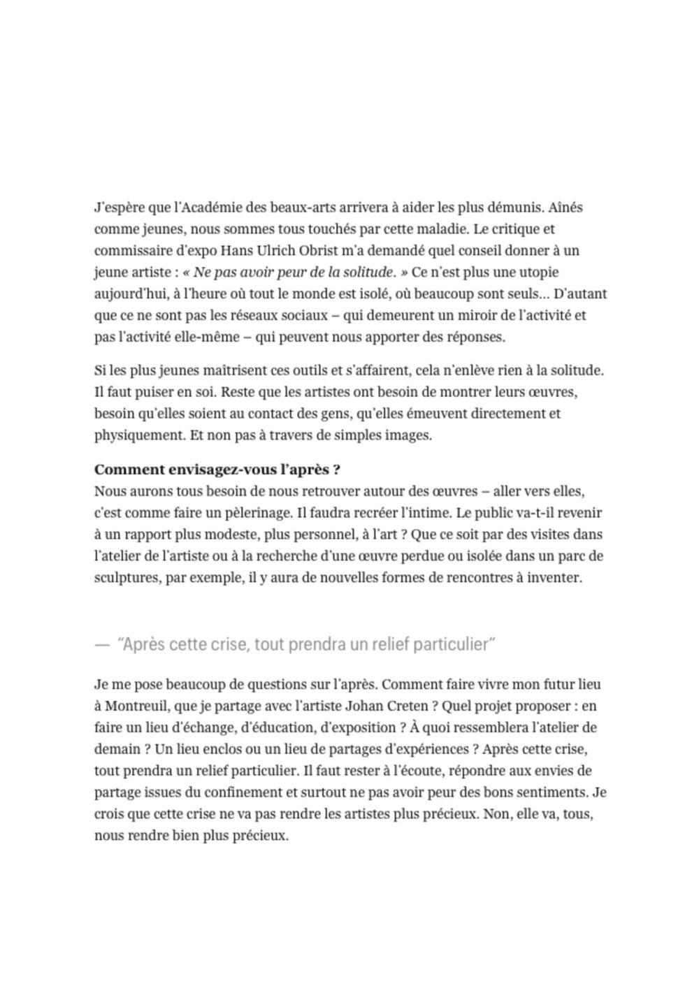 Télérama | Jean-Michel OTHONIEL