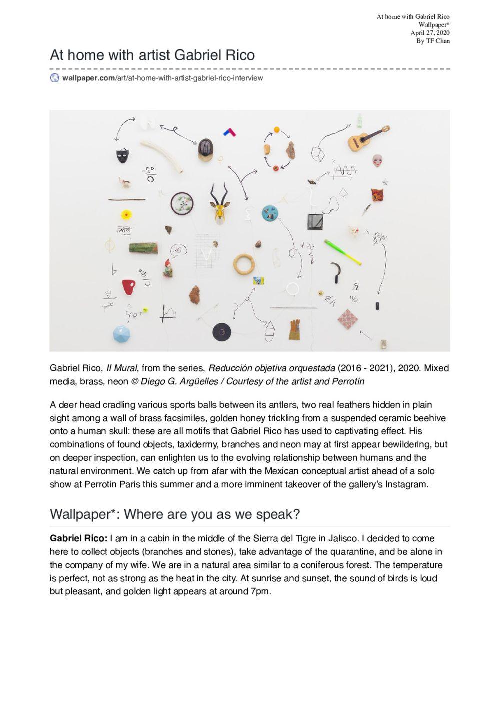Wallpaper | Gabriel RICO