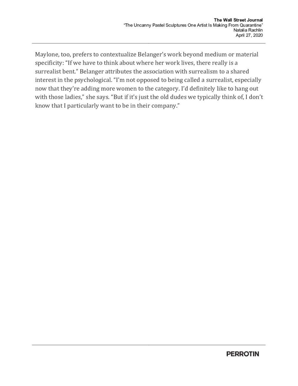 The Wall Street Journal   Genesis BELANGER