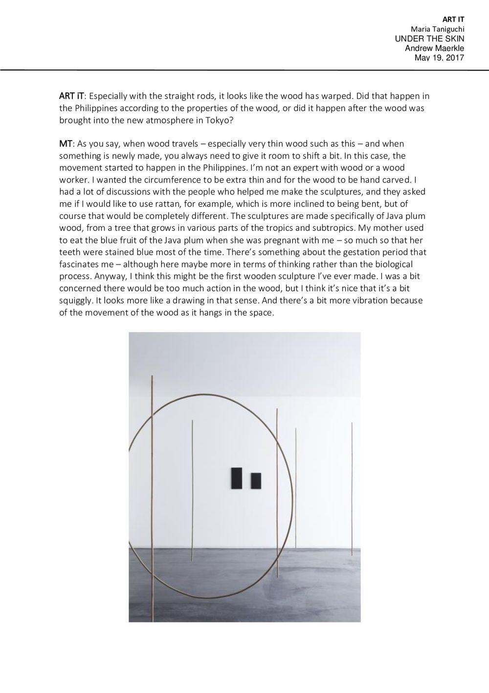 Art it | Maria TANIGUCHI
