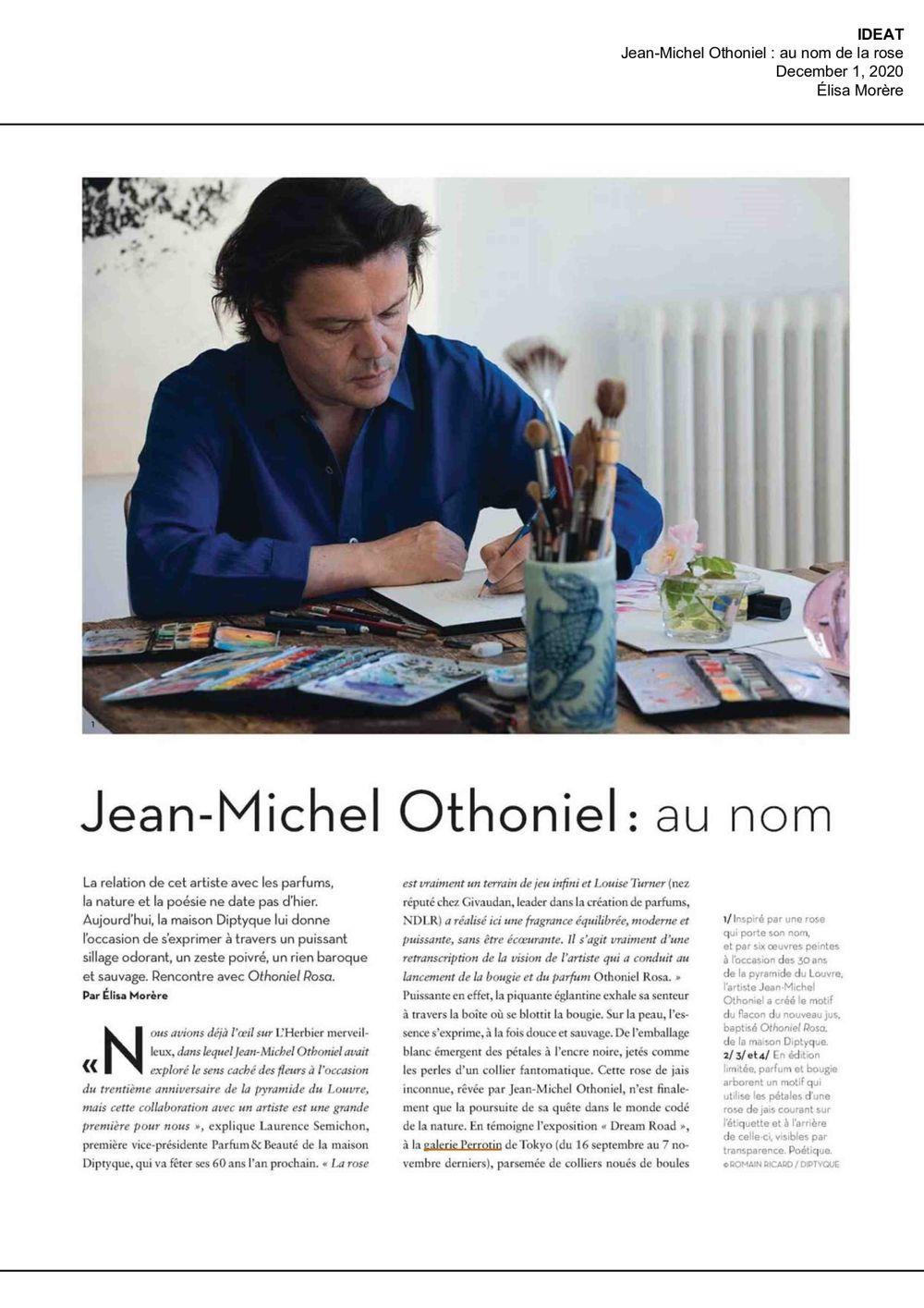 IDEAT | Jean-Michel OTHONIEL