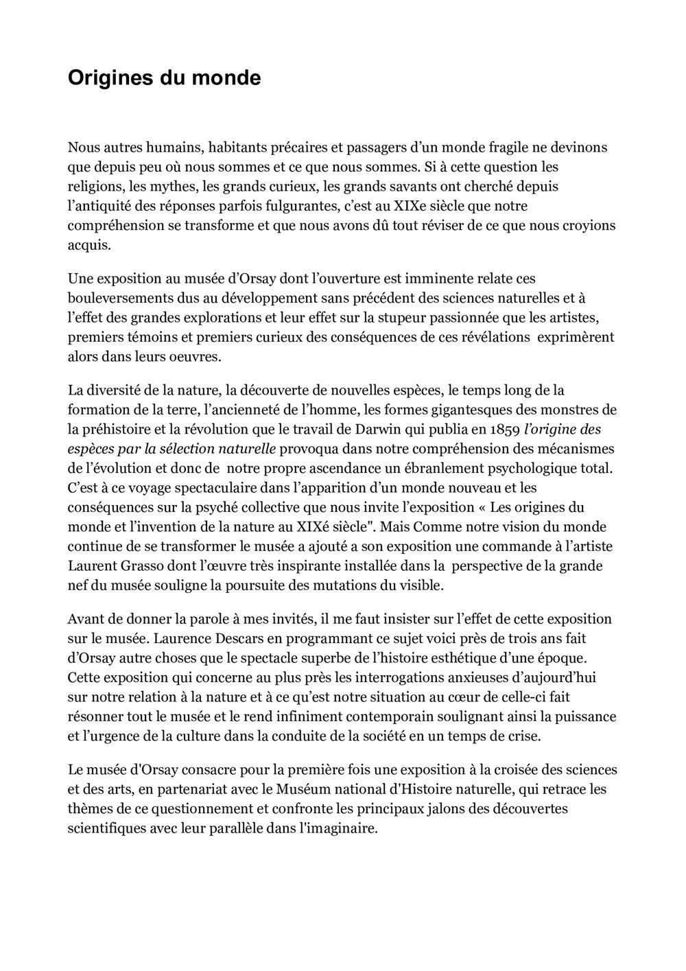 France Culture | 洛朗·格拉索