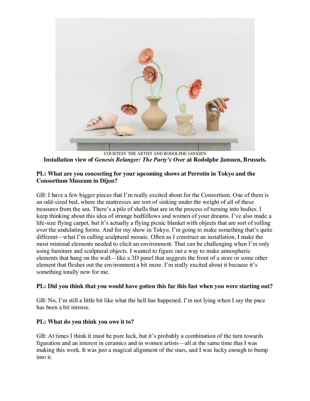 Art and Object | Genesis BELANGER