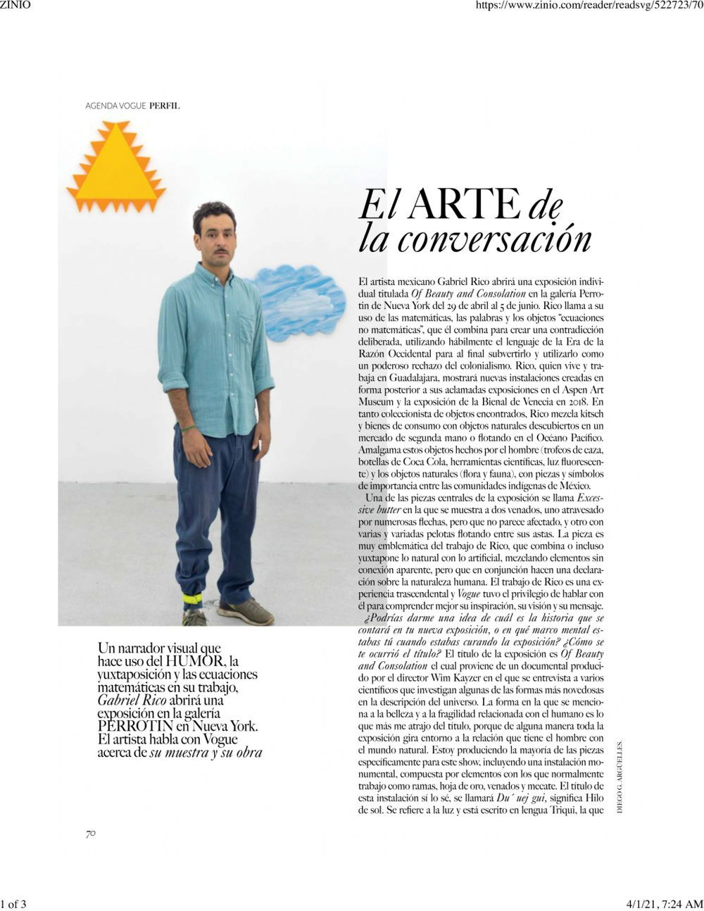 Vogue Mexico | Gabriel RICO