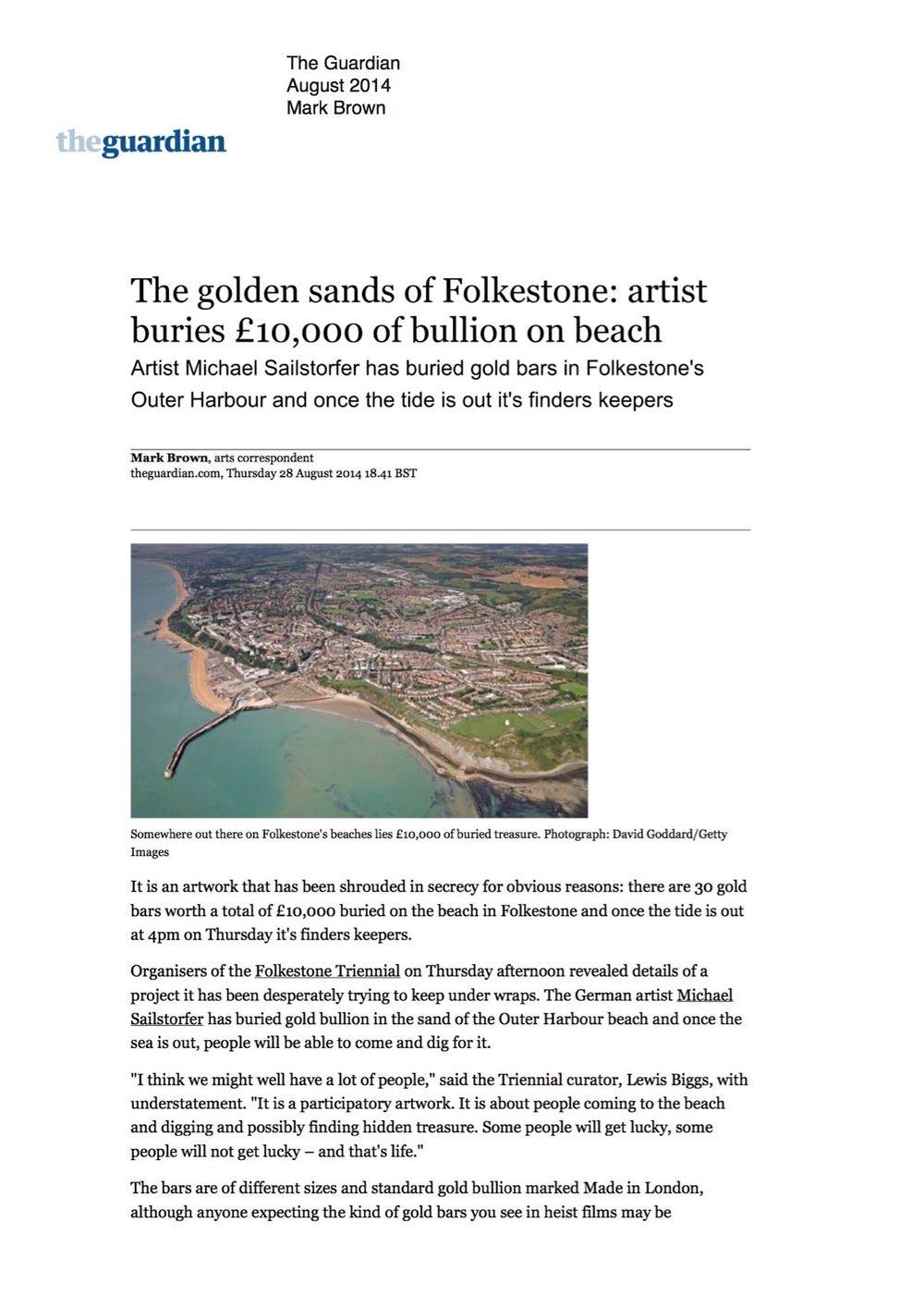 The Guardian | Michael SAILSTORFER