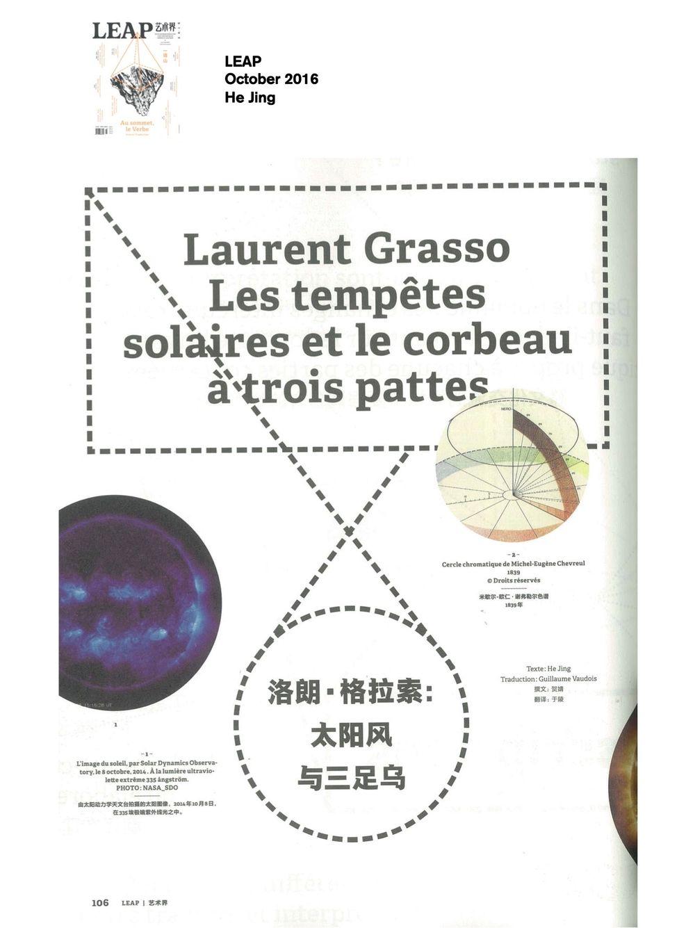 LEAP | Laurent GRASSO