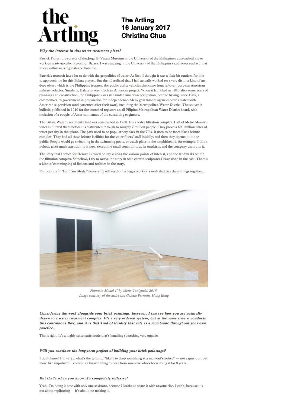 The Artling | Maria TANIGUCHI