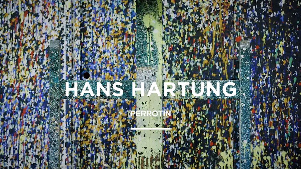 Artist:Hans HARTUNG, Video Exhibition:A Constant Storm. Works from 1922 to 1989