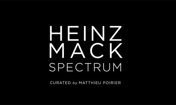 Artist:Heinz MACK, Video Exhibition:Spectrum