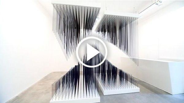 Artist:Jesús Rafael SOTO, Video Exhibition:Chronochrome