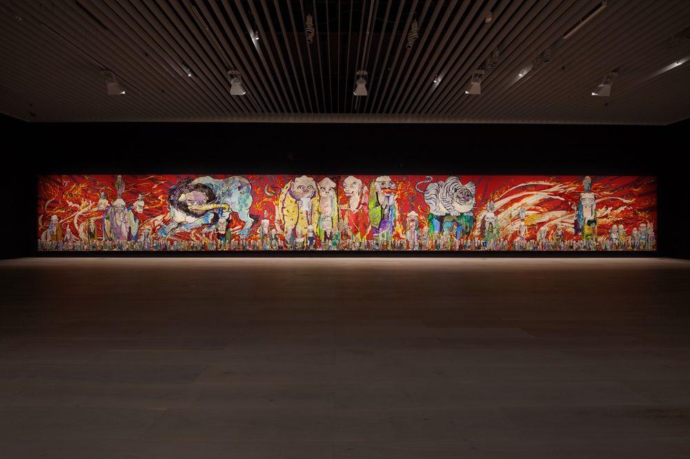 Artist:Takashi MURAKAMI, Exhibition:The 500 Arhats