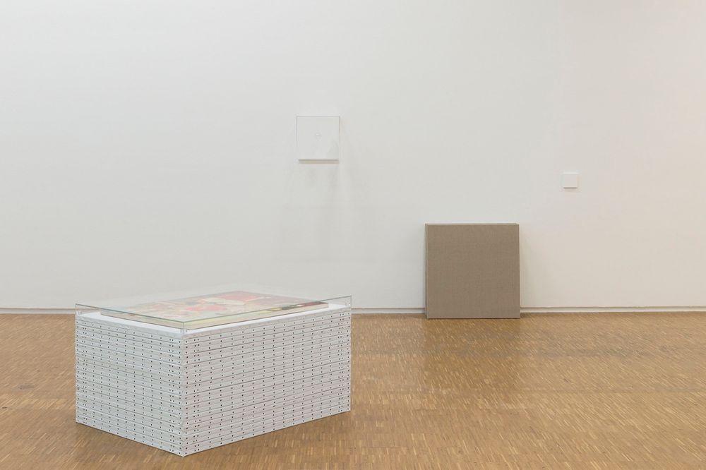 Artist:Claude RUTAULT, Exhibition:d'où je viens où j'en suis où je vais