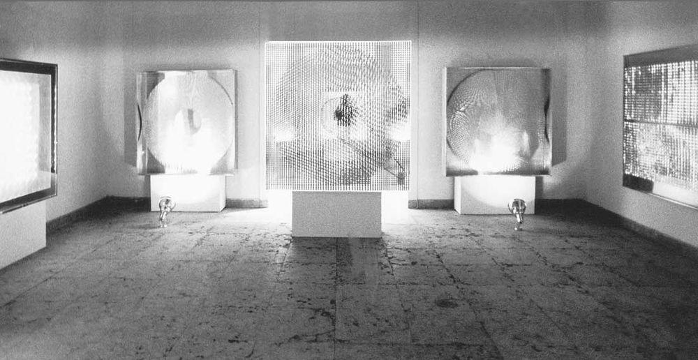 Artist:Heinz MACK, Exhibition:German pavilion of the 35th Biennale