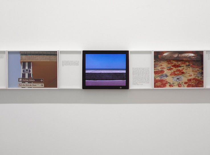 Artist:Sophie CALLE, Exhibition:Où et Quand?