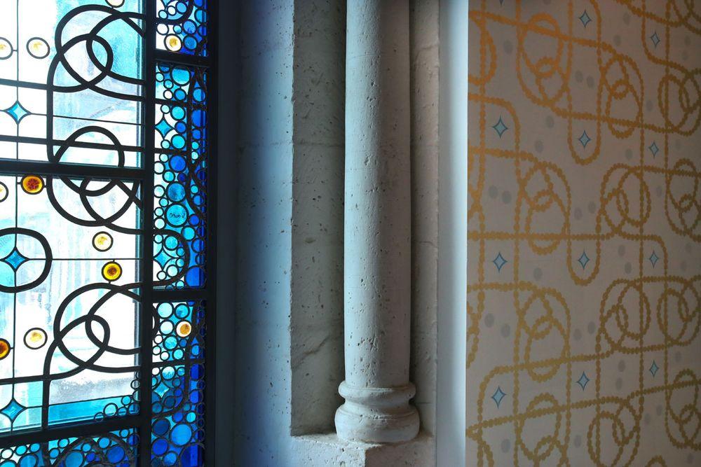 Artist:Jean-Michel OTHONIEL, Exhibition:Le Trésor de la cathédrale d'Angoulême